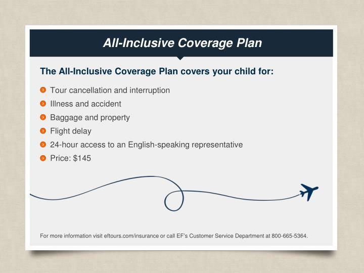 All-Inclusive Coverage Plan