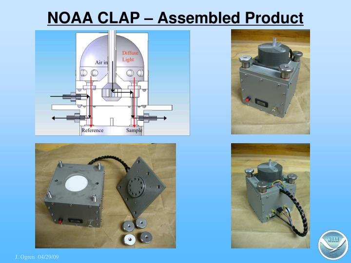 Noaa clap assembled product