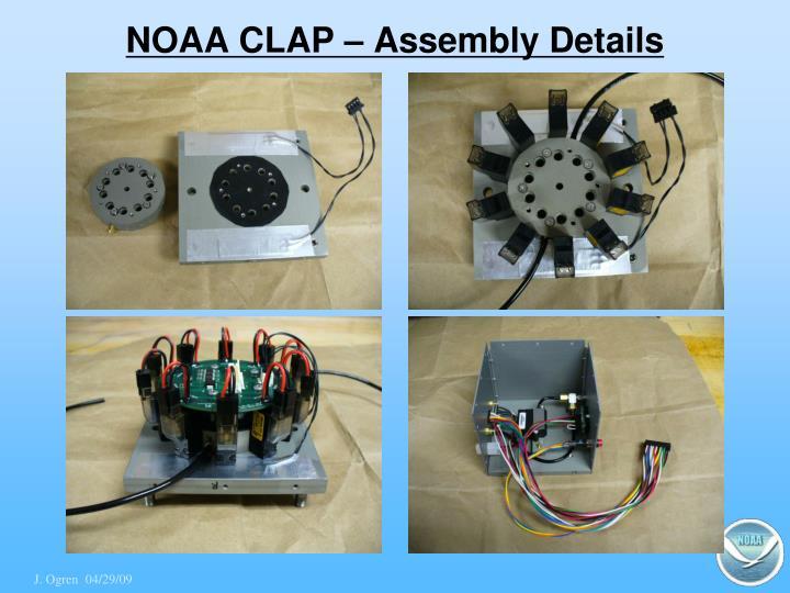 NOAA CLAP – Assembly Details