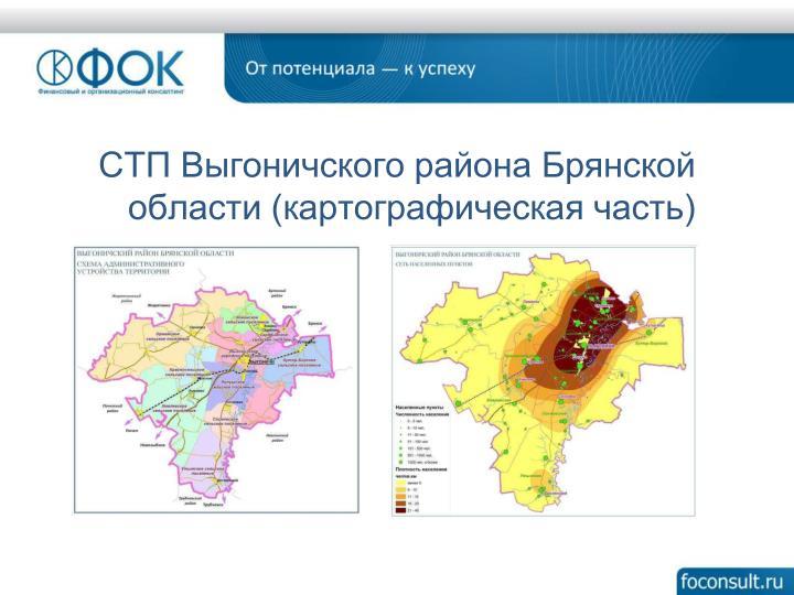 СТП Выгоничского района Брянской области (картографическая часть)