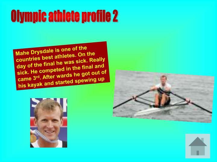 Olympic athlete profile 2