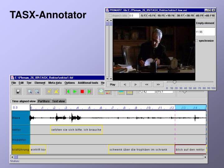TASX-Annotator