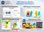 airs improves weather operations and research