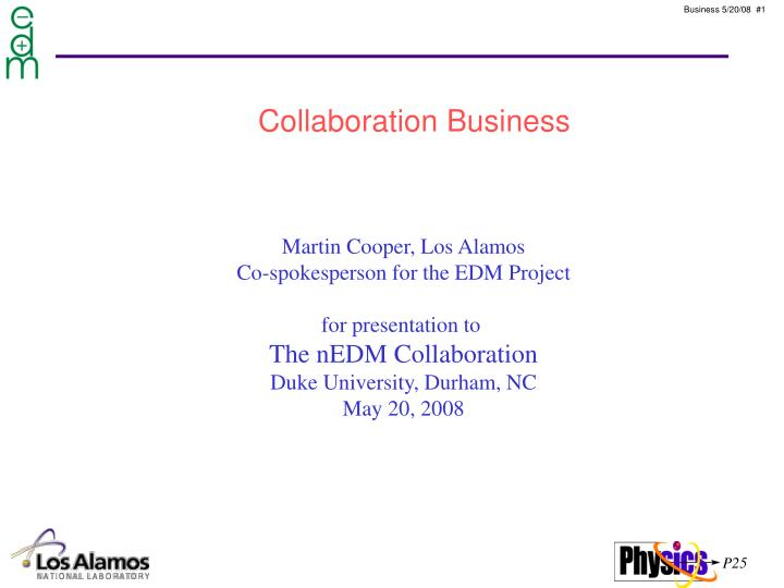 Collaboration Business