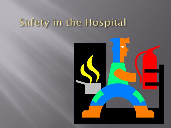 safety in the hospital n.