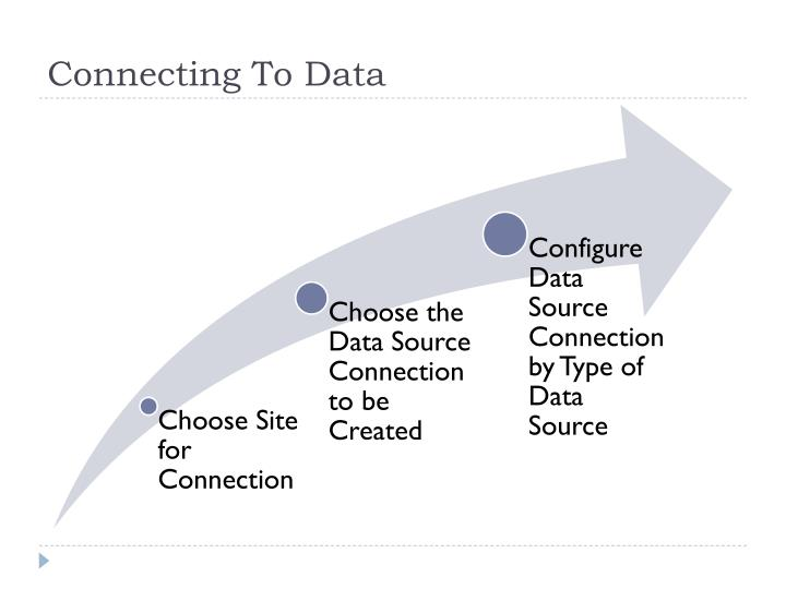 Connecting To Data