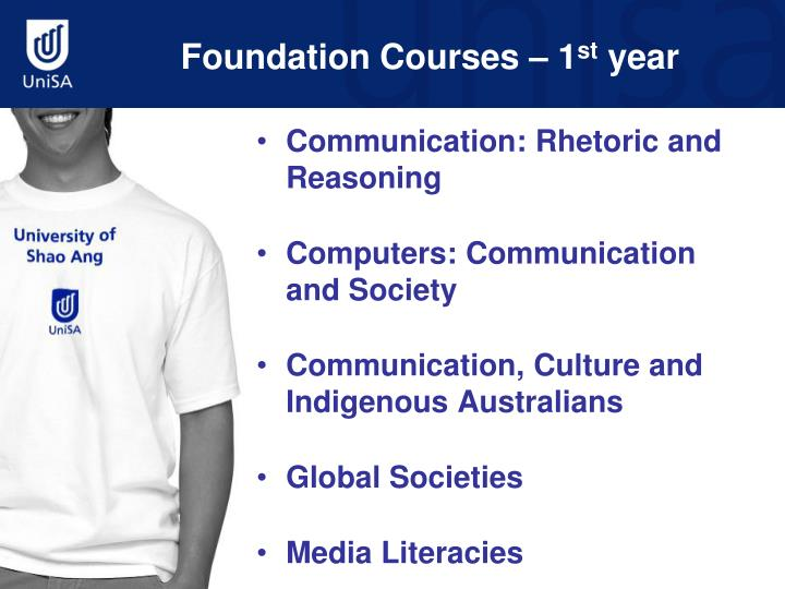 Foundation Courses – 1