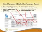 school summary of student performance roster1