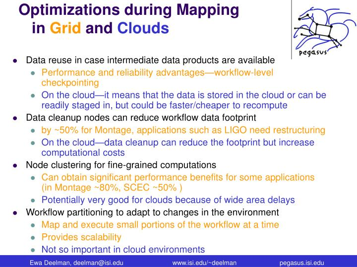 Optimizations during Mapping