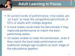 adult learning in focus8