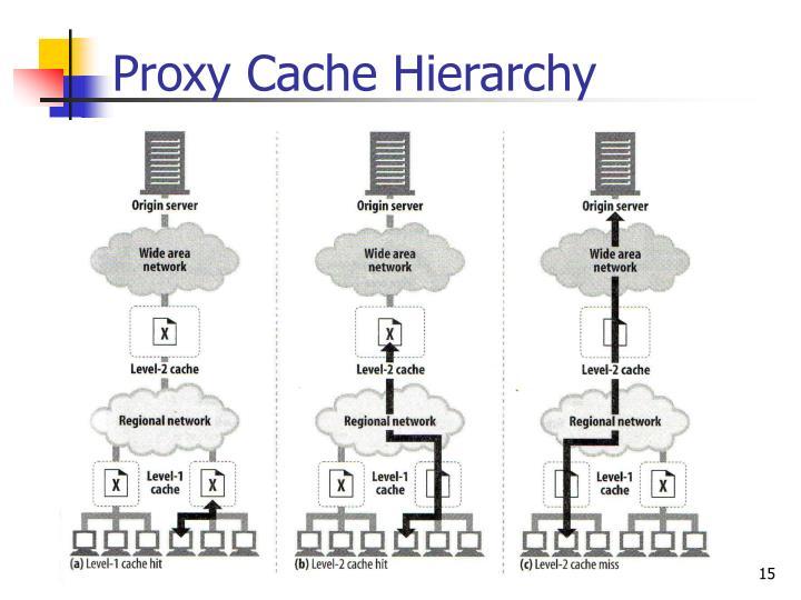 Proxy Cache Hierarchy