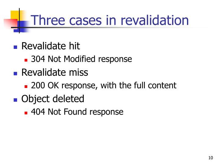 Revalidate hit