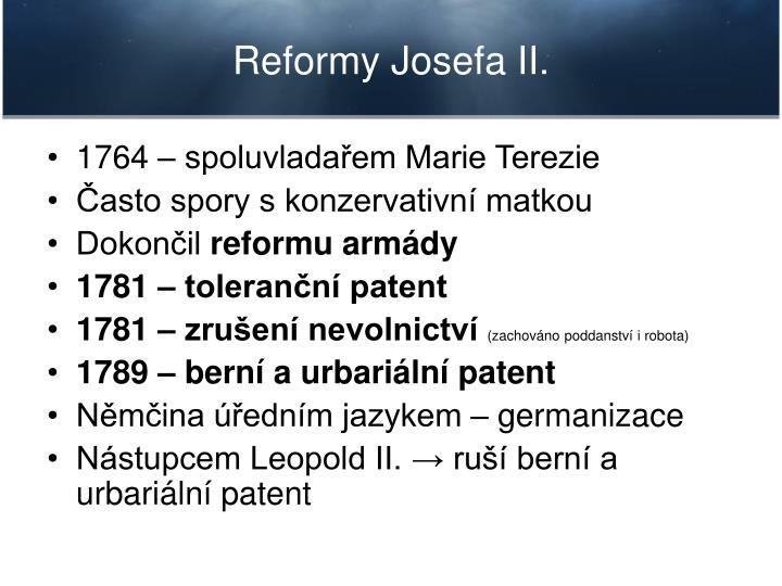 Reformy Josefa II.