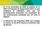 programa de supervisi n 2010