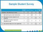 sample student survey1
