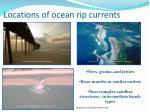locations of ocean rip currents