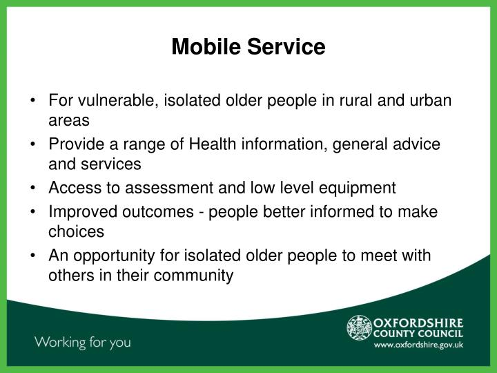the national service framework for older people The national service framework for older people  language therapy service provision to people with dementia is not meeting these policies and is therefore.