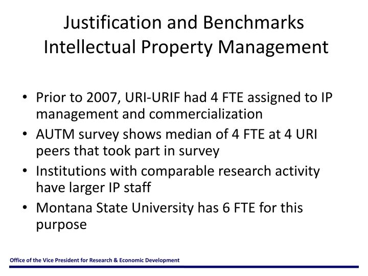 Justification and Benchmarks