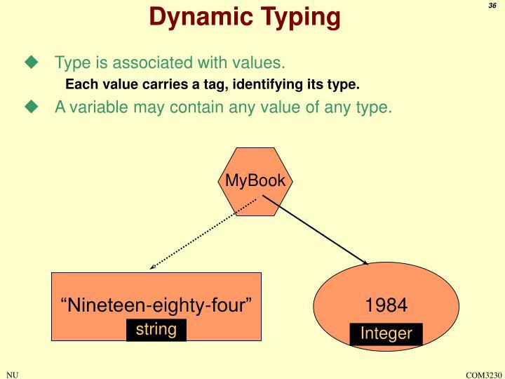 Dynamic Typing