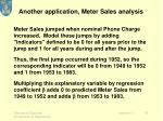 another application meter sales analysis1
