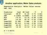 another application meter sales analysis2