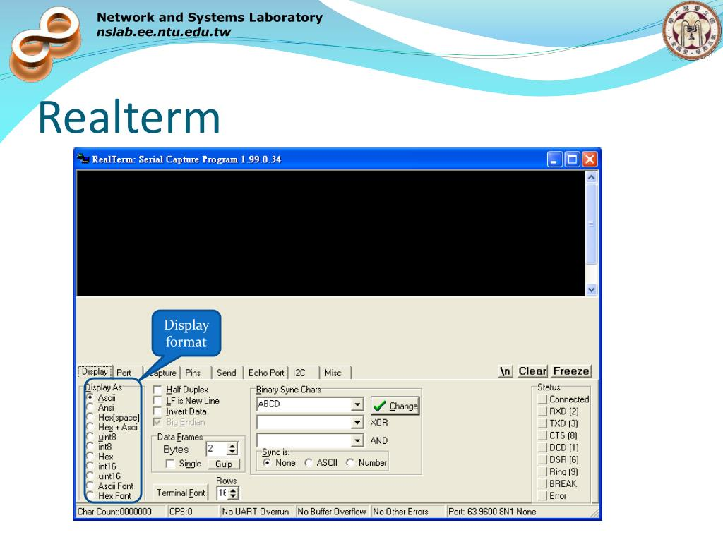 PPT - Lab 4: UART PowerPoint Presentation - ID:5867559