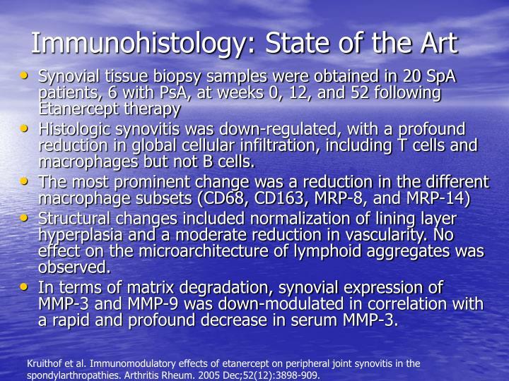 Immunohistology: State of the Art