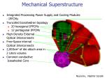 mechanical superstructure