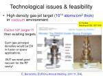 technological issues feasibility1