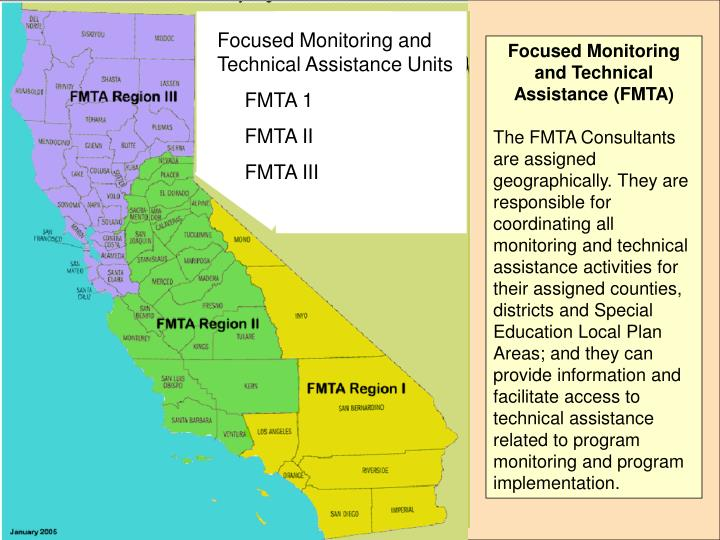 Focused Monitoring and Technical Assistance Units