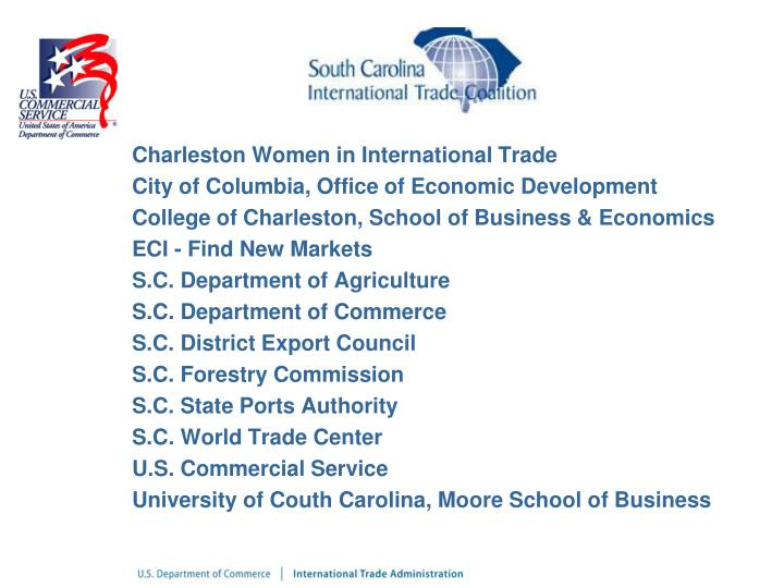 Charleston Women in International Trade