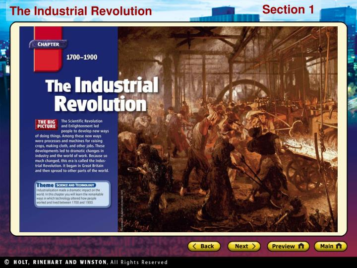 an analysis of the effects of the new industrial revolution of new technology
