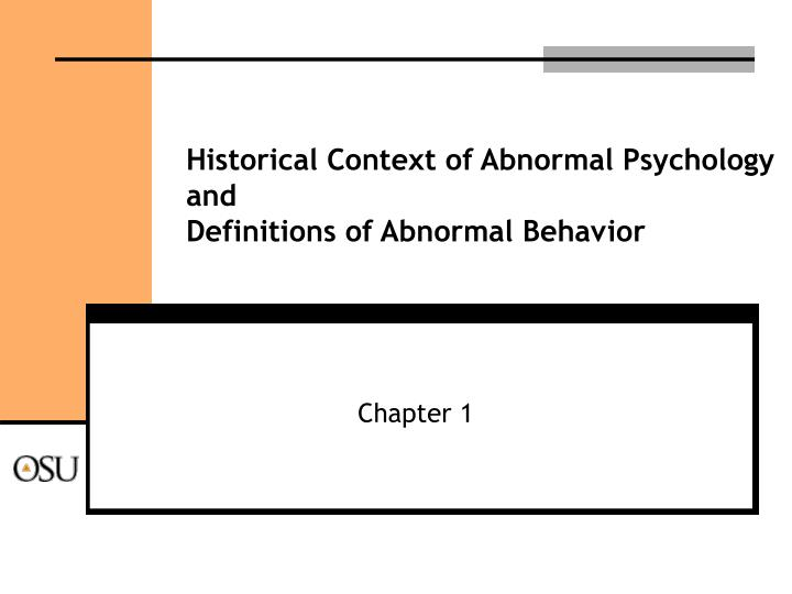 psy 410 abnormal behavior Below is an essay on psy 410 schizophrenia disorder from anti essays, your source for research papers, essays psy 410 (abnormal psychology) complete psy 410 (abnormal psychology) complete psy 410 (abnormal psychology) complete.