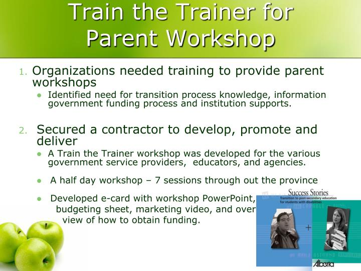 Train the Trainer for