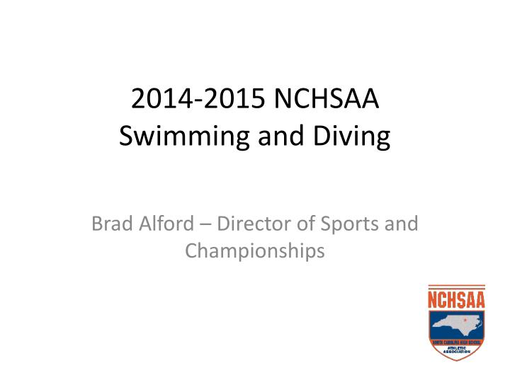 2014 2015 nchsaa swimming and diving n.
