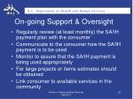on going support oversight1