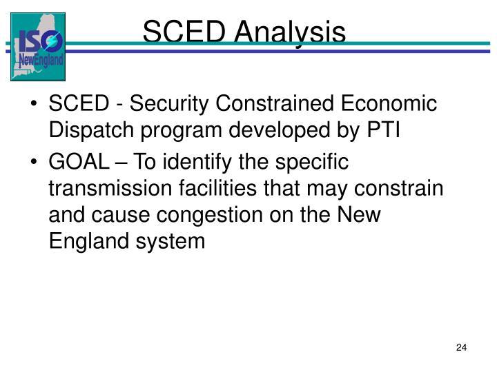 SCED Analysis