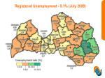 registered unemployment 5 1 july 2008
