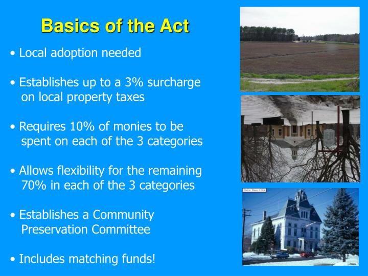 Basics of the Act