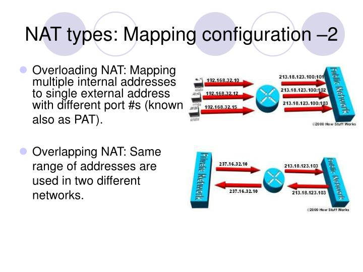 NAT types: Mapping configuration –2
