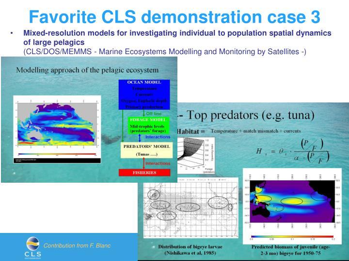 Favorite CLS demonstration case 3