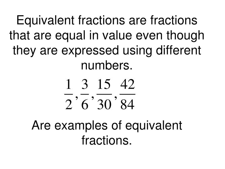 Ppt Ch 16 Intro To Fractions Powerpoint Presentation Id5870044