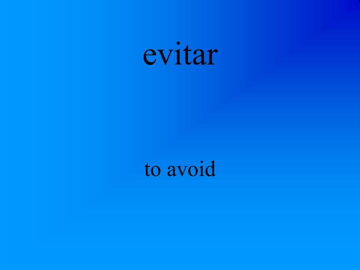 evitar