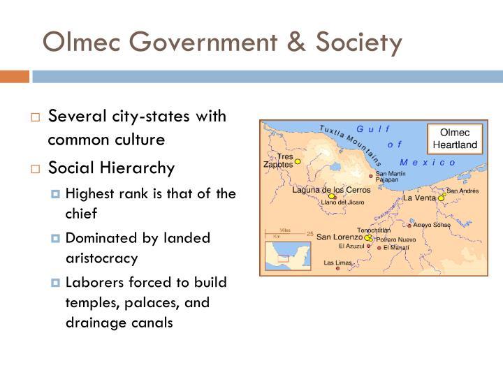 Olmec Government & Society