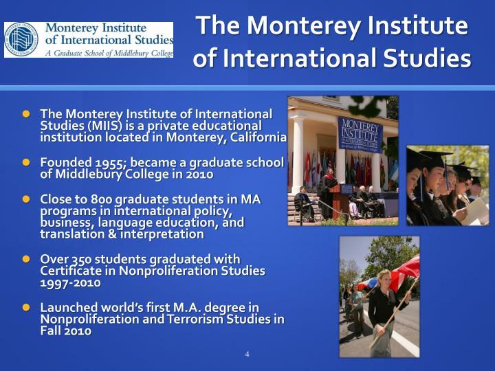 The Monterey Institute