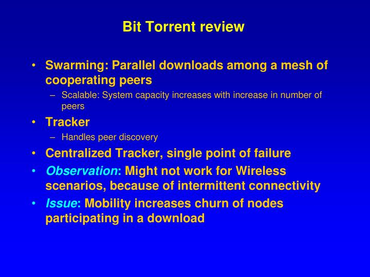 Bit Torrent review