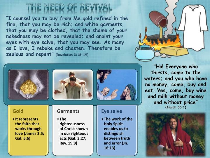 THE NEED OF REVIVAL