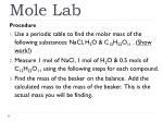 mole lab1