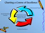 charting a course of excellence