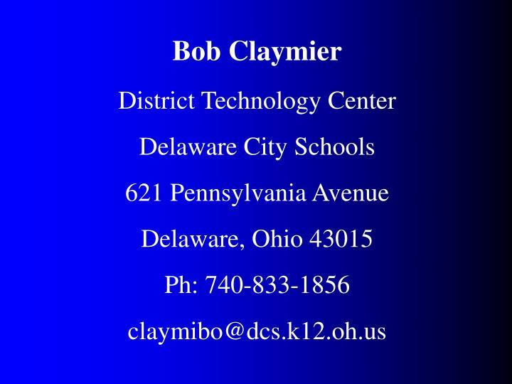 Bob Claymier